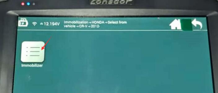 Lonsdor-K518S-Add-New-Key-for-Honda-CR-V-2015-7